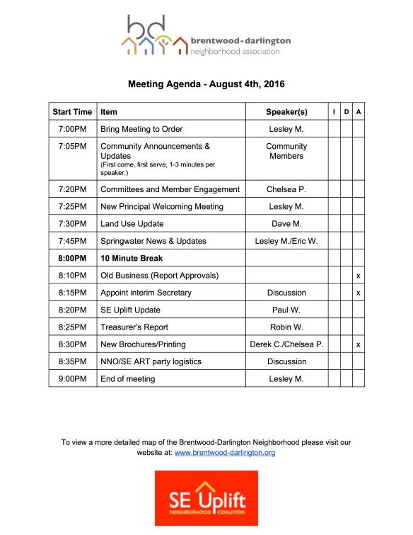 BDNA_Agenda_August2016