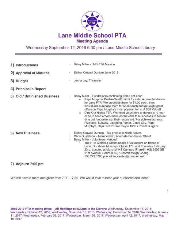 lane-ms-pta-9-14-2016-agenda