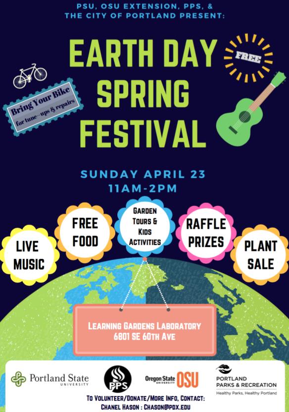 LGL Earth Day Spring Festival