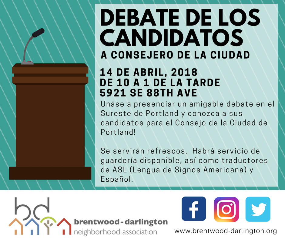 April 14 Debate - Social Media Image_SPANISH