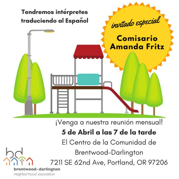 April 2018 Meeting Social Media Image - SPANISH