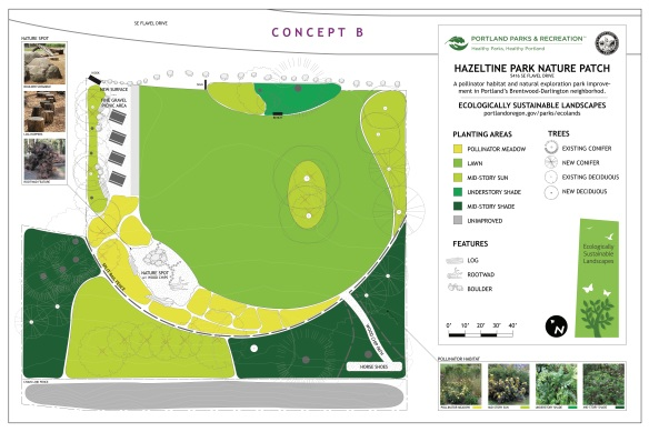 Hazeltine Nature Patch Site Plan B