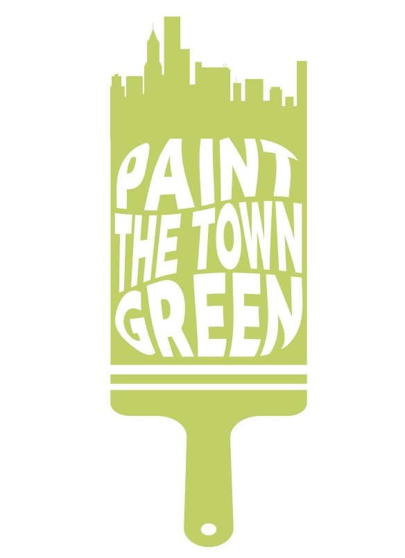 paint the town green _logo